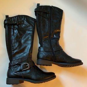⭐️WORN1x⭐️Bare Traps Boots black 8M